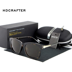 HDCRAFTER Square Lens Sunglasses