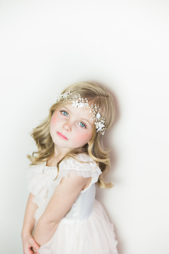 In Blossom Gold Circlet Headband