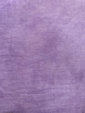 lilac hand-dyed cotton gauze