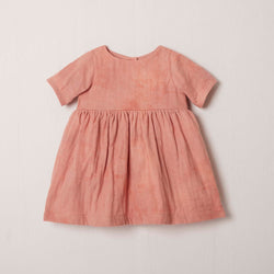 Short Sleeve Charity Dress in Sunset