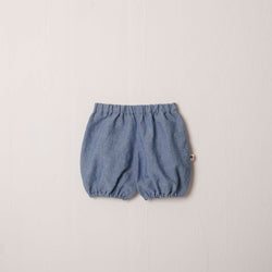 Riley Bubble Short in Chambray