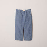 Roll-Up Pant in Chambray