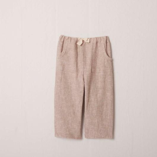 Roll-Up Pant in Sand