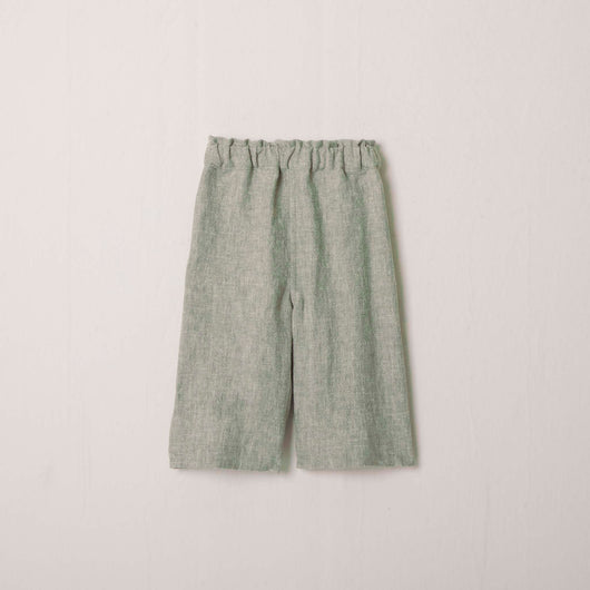 Cora Beachcomber Cropped Pant in Sage