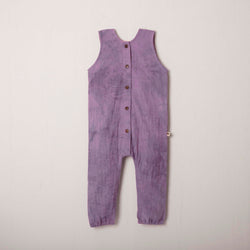Sleeveless Seaside Romper in Lilac