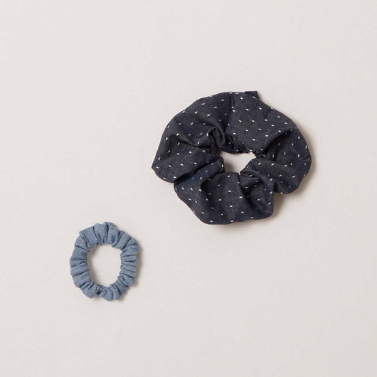 Scrunchie in Chambray