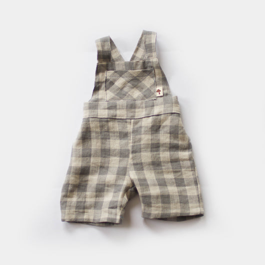 Farmhouse Linen Overalls