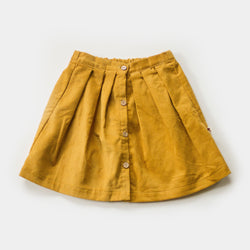 Cider Pleated Skirt