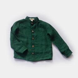 Button-up Shirt in Pine