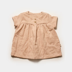 Cottontail Blouse in Shell