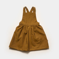 Chai Chambray Apron Dress