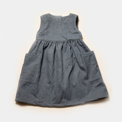 Lucille Dress in Retro Denim