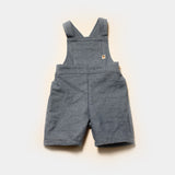 Retro Denim Shortalls