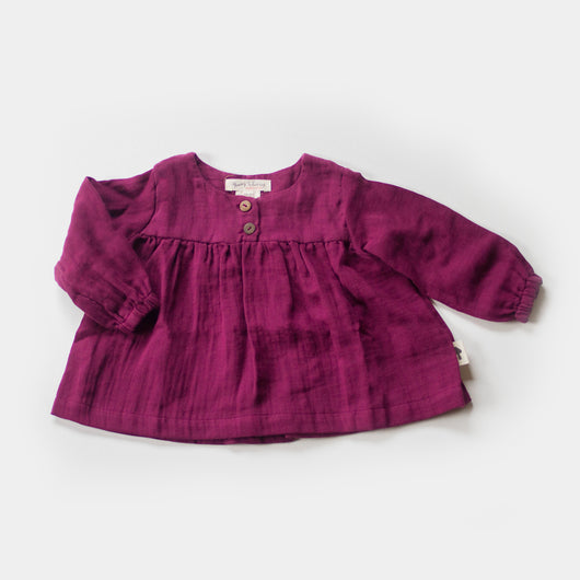 Cottontail Blouse in Wildberry