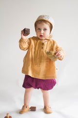 Cottontail Blouse in Wheat