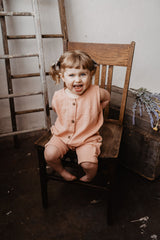 Cottage Romper in Clay