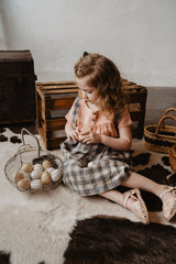 Cottontail Blouse in Clay