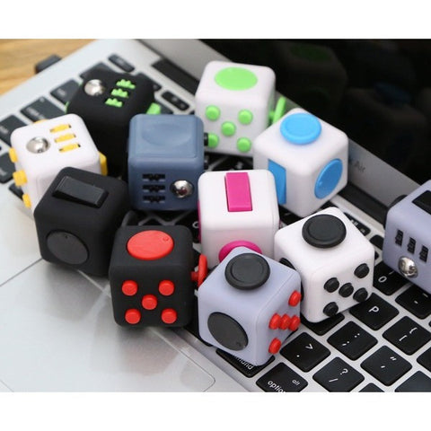 Fidget Cube with 11 Variations - Concrete N Jungle