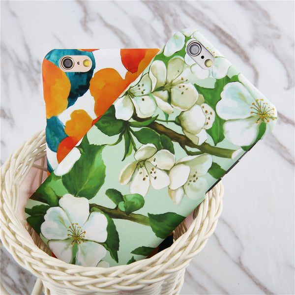 Flowery Case for iPhone Models - Concrete N Jungle