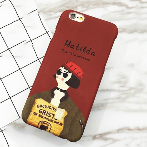 Matilda Movie Case For iPhone models - Concrete N Jungle