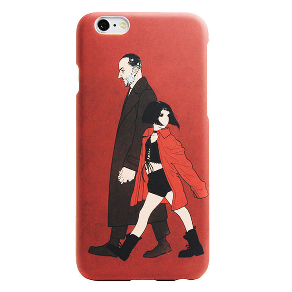 Phone Case Movie Leon for iPhone Models - Concrete N Jungle