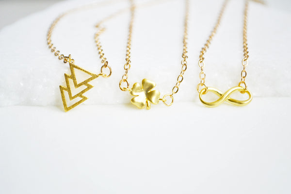 Tiny Dainty Gold Necklace