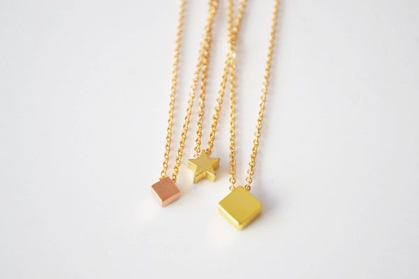 Tiny Gold Layering Necklace