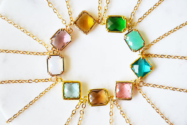 Candy Gemstone Necklace