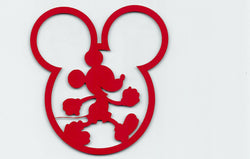 Mickey Mouse in Mickey Head