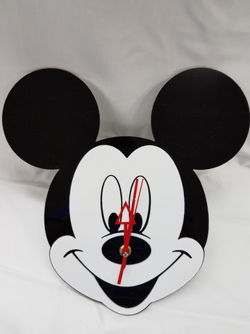 Mickey Mouse Acrylic Clock