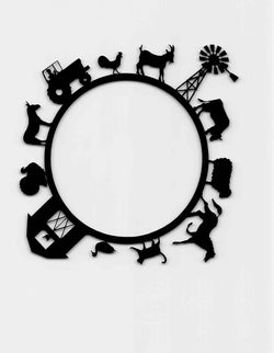 Farm Animals Circle