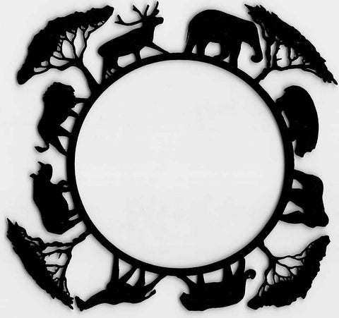 Safari Animals Circle