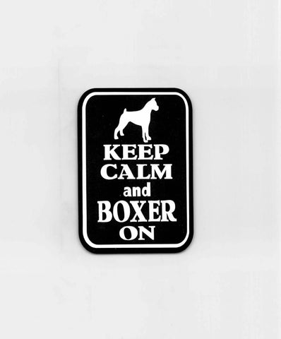 Keep Calm and Boxer On