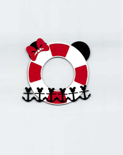 Minnie Life Buoy Disney Cruise