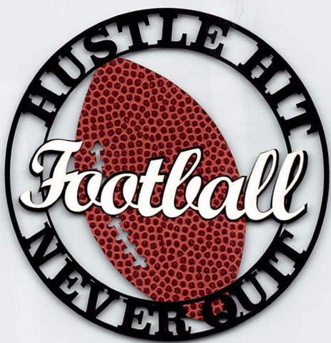 FootBall - Hustle Hit, Never Quit