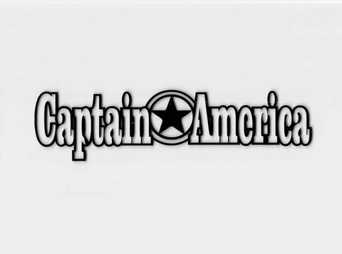 Captain America Strip Title