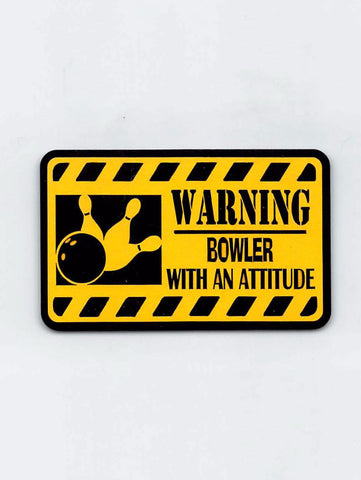 Bowler With An Attitude