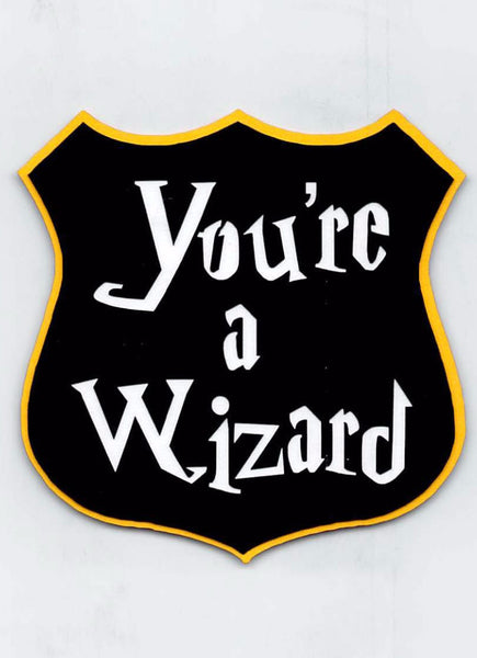 Your a Wizard