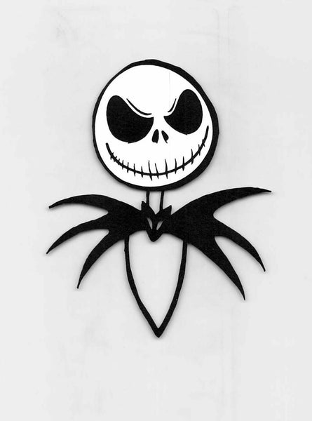 Jack Skellington Face & Collar