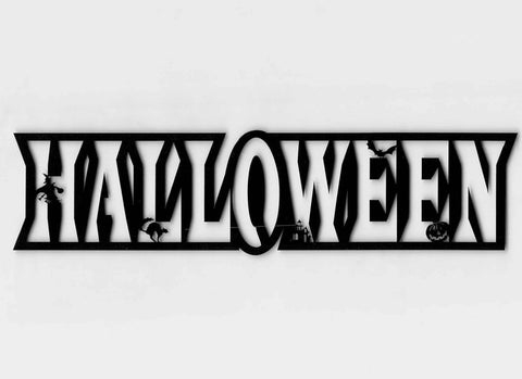Halloween Title Hollow
