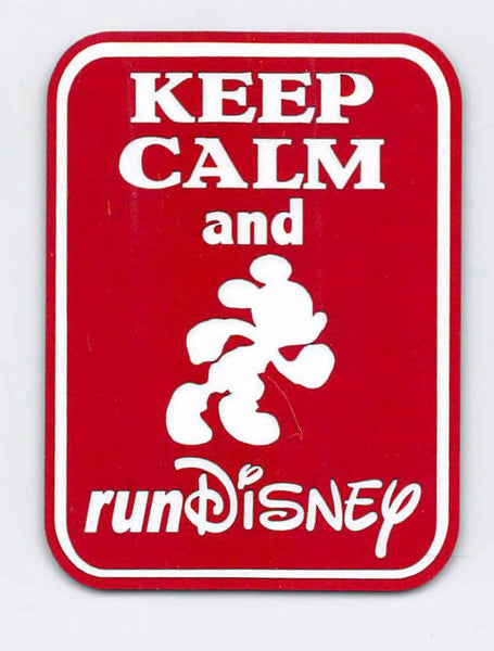 Keep Calm and Run Disney