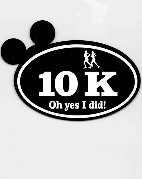Run Disney Mickey Ears 10K