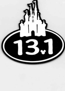 Disney Run Castle 13.1K