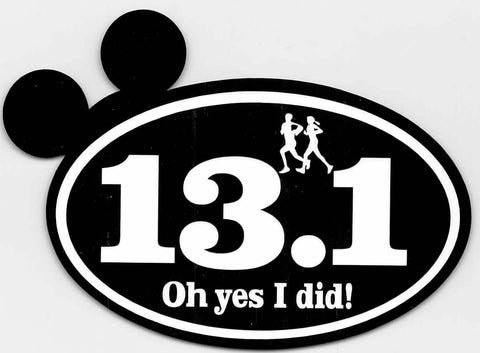 Run Disney Mickey Ears 13.1K