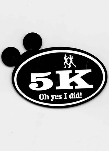 Disney Run Mickey Ears 5K