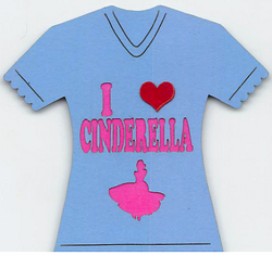 I Love Cinderella T-shirt