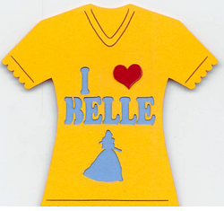 I Love Belle T-Shirt