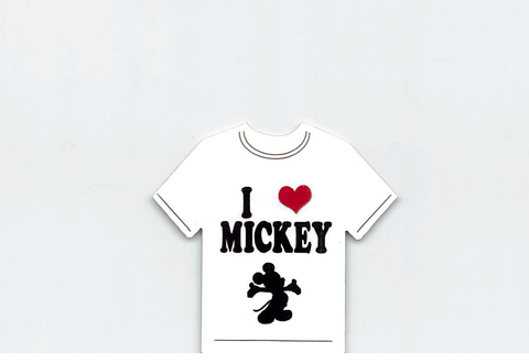 I Love Mickey T-Shirt