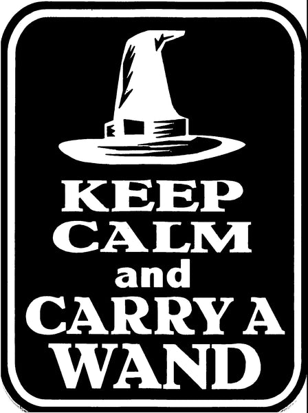 Keep Calm and Carry a Wand/Harry Potter