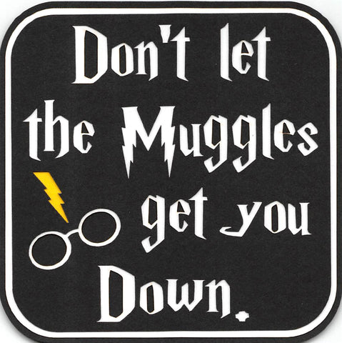 Don't Let The Muggles Get You Down Harry Potter